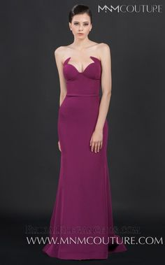 Look irresistible in this enchanting evening dress by MNM Couture The strapless bodice has a curve-enhancing sweetheart neckline embellished with unique Bridal Elegance, Prom 2016, Nice Dresses, Formal Dresses, Pageant Gowns, Strapless Dress Formal, Evening Dresses, Couture, Elegant