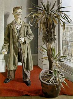 Interior in Paddington, Lucian Freud oil on canvas, x The Trustees of the National Museums and Galleries on Merseyside, Walker Art Gallery, Liverpool Sigmund Freud, David Hockney, Figure Painting, Painting & Drawing, Lucian Freud Paintings, Color Terciario, Antoine Bourdelle, George Grosz, Figurative Kunst