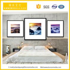 Small MOQ !HD glasses-free 3D colorful rhyme home hotel restaurant living room modern wall decoration picture