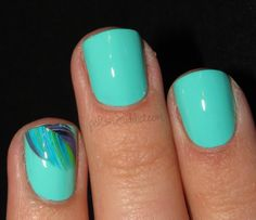 Polish Art Addict: Feather Water Decals