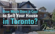 How much does it really cost to sell your home? Who do you have to pay fees to to get your home sold? If you have those questions, here's what you need to know: http://www.melissaemond.com/much-cost-sell-house-toronto/