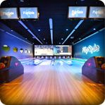 FlipSide Bowling Lane in Gilbert, Arizona.  Flipside also offers laser tag, billiards and an arcade.  Perfect for a day of family fun!