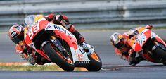 Márquez y Pedrosa afinan sus Honda en Brno   QuintaMarcha.com
