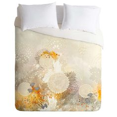 Iveta Abolina White Velvet Duvet Cover | DENY Designs Home Accessories