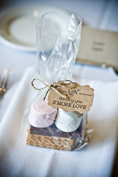 Summer wedding favor idea