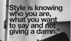 Style is one's personal choice...shouldn't knock others style never know who may be knocking you!