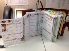 Love my DIY fish inserts with my Gillio. Planner bliss! Life is a well organized machine.