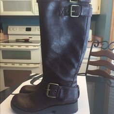 Boots Nine West boots. Perfect condition never worn. Brown Nine West Shoes Heeled Boots