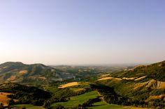 """The Valmarecchia (also called the Marecchia Valley) is a long valley that borders the Marecchia River, which runs from the Apenninesin Tuscany into the Adriatic Sea near Rimini"" - ""The Valmarecchia"" by @ciaobologna"
