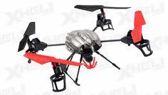 WL Toys RC 4 Channel Quadcopter V999 Future Battleship Crane Basket