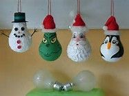 Image result for Lightbulb Ornaments