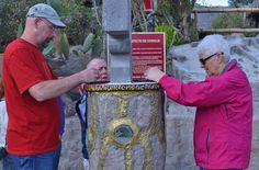 Egg Experiments at the Ecuator Line