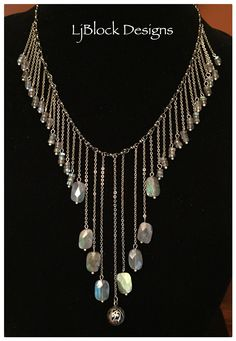 1000 images about jewelry on pinterest labradorite for Waterfall design etsy