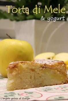 Torta di yogurt e mele ( versione Bimby e non)