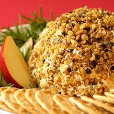 Holiday Apple Cheese Ball - Price Chopper Recipe