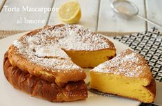 Torta al mascarpone con limone