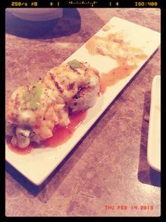 Baked sushi