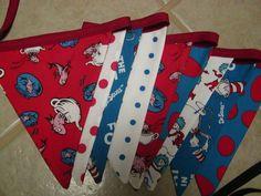 Dr Seuss flag Banner