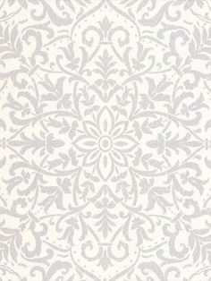 This Decorline Vision Antila Motif Damask Wallpaper features a metallic silver geometric damask pattern on a textured white background Damask Wallpaper, High Quality Wallpapers, White Texture, Metallic, Tapestry, Colours, Stylish, House Styles, Easy