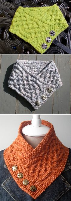 Celtic Cable Neckwarmer - Free Pattern Free Knitting Pattern Always aspired to discover how to knit, but unclear where do you start? This specific Complete Beg. Knitting Blogs, Knitting Patterns Free, Knit Patterns, Free Knitting, Knitting Projects, Baby Knitting, Free Pattern, Afghan Patterns, Linen Stitch