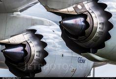 Engine close-up. Boeing 747-867F B-LJK 43394 Amsterdam Schiphol Airport - EHAM