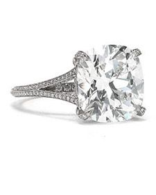 Engagement Rings in All Shapes and Sizes - Martha Stewart Weddings Inspiration