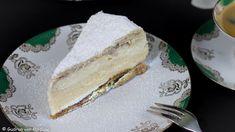 Süße Verführung - Cremeschnitten in Form einer Torte Gudrun, Vanilla Cake, Cheesecake, Desserts, Cake Ideas, Dessert Ideas, Custard Recipes, Raspberries, Bread
