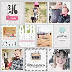 Kate from the Creative Team is on the blog talking about Weekly pocket cards - The Pocket Source, Project Life