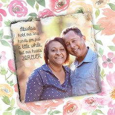 Desktop slate prints are such a unique way to show off a heartfelt photo and message for your mom or grandma. #30giftsformom #MothersDay