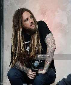 Brian Welch attends the BUILD Series presents Korn discusses 'The Serenity of Suffering' at AOL HQ on August 31, 2016 in New York City.