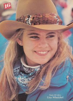 Lisa Whelchel starred as Blair Warner in NBC's The Facts of Life. #TV #television #80s
