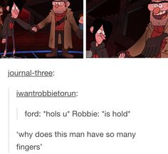 """""""Why does this man have so many fingers?"""""""