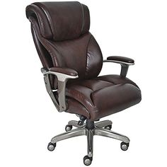 La Z Boy And Tall Jarvis Executive Chair Brown