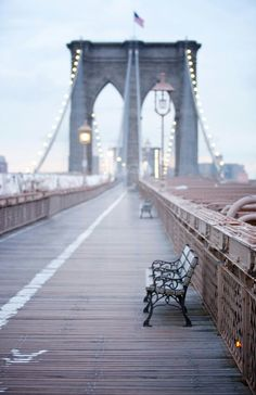 Brooklyn Bridge - want to walk over at sunset