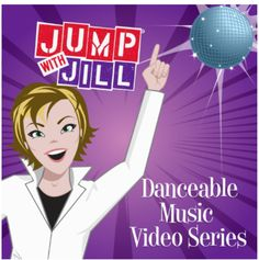 The Jump with Jill Danceable Music Video DVD Series helps you incorporate movement breaks between coursework, offer an alternative physical education class, or create a performance event for your enti