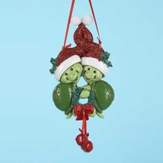 Turtle Couple Christmas Ornament >>> You can find out more details at the link of the image.