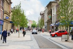 Fishergate has undergone significant rejuvenation in recent years Preston defied the trend across the North West to see retail growth. More shops closed tha