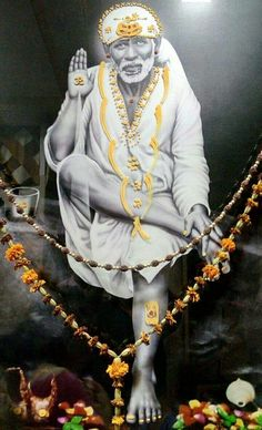 Forbearance or patience (Saburi) and Faith (Shraddha) cuts away calamities from all directions. Sai Baba Pictures, God Pictures, Shirdi Sai Baba Wallpapers, Sai Baba Hd Wallpaper, Saints Of India, Sai Baba Quotes, Durga Images, Sathya Sai Baba, Baba Image