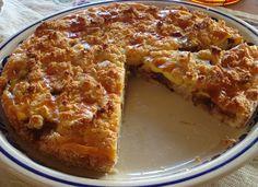 Bolo de Ameixa com Streusel de Massapão/Tarta de Ciruelas con Streusel de Mazapán/Plum Cake with Marzipan Crumble