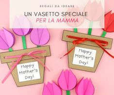 A special vase for mom! Back To School, Daisy, Place Card Holders, Frame, Cards, Mom, Spring, Manualidades, Calendar
