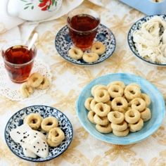 Ka ek Al-Eid Al Maleh Syrian Ring Cookies Recipe | TasteSpotting