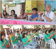 Perez, Quezon residents welcome SSS   Social Security System (SSS) President and Chief Executive Officer Emilio de Quiros, Jr. (top photo, right) explained the value of active SSS membership to local officials and residents (left photo) of the municipality of Perez in Quezon province during SSS' Meeting and Open Forum held at the Perez Gymnasium on March 21.