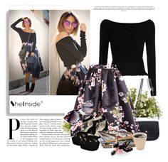 """""""SheIn 4/IV"""" by amina-haskic ❤ liked on Polyvore featuring Adagio, Boohoo, Nearly Natural, Chanel and Sheinside"""