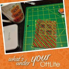 uses her OttLite when creating her scrappy hexie stockings. What do you use your OttLite to create? Make sure to tag us and use for a chance to be featured! Light Crafts, Desk Light, Hand Stitching, Floor Lamp, Quilting, Crafting, Stockings, The Incredibles, Reading