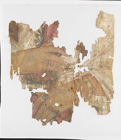 Fragment of a painted mummy shroud Period: Imperial Date: late 2nd–3rd century A.D. Culture: Roman, Egyptian Medium: Linen, paint