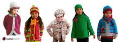 Abrigos de punto, de paño, de cuadros, en tejidos de fantasía, de pelo,... ¡Entra en nuestra tienda online y mira todas las prendas de abrigo que te podemos ofrecer! www.cucubebe.com