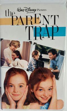 VHS 1998 Vintage Movie titled The Parent Trap starring Dennis Quaid & Natasha Richardson