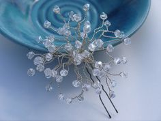 Bridal Hair Pins Wedding Jewelry Rhinestone Comb Clip Headband Bridesmaid Gift