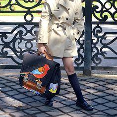 School fashionista - Chocolat Show back to school 2016 #chocolatshow #schoolbag #backtoschool #rentreedesclasses