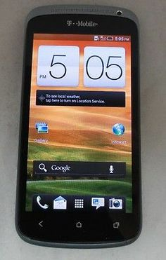 "UNLOCKED Blue HTC One S 4G T-MOBILE GSM 8MP 4.3"" Screen Good Cond. CLEAN IMEI!"